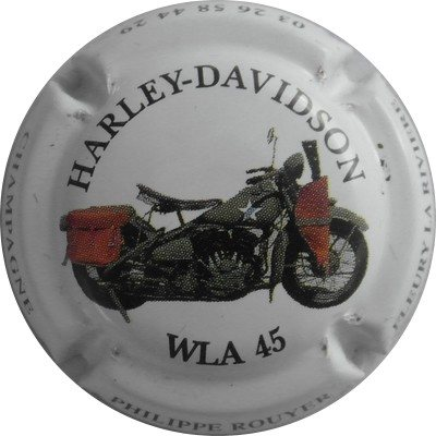 N°013 HARLEY-DAVIDSON WLA 45